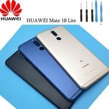 Huawei – coque arrière de batterie en verre, cadre dobjectif dappareil photo, pièce de rechange pour HUAWEI Mate 10 Lite
