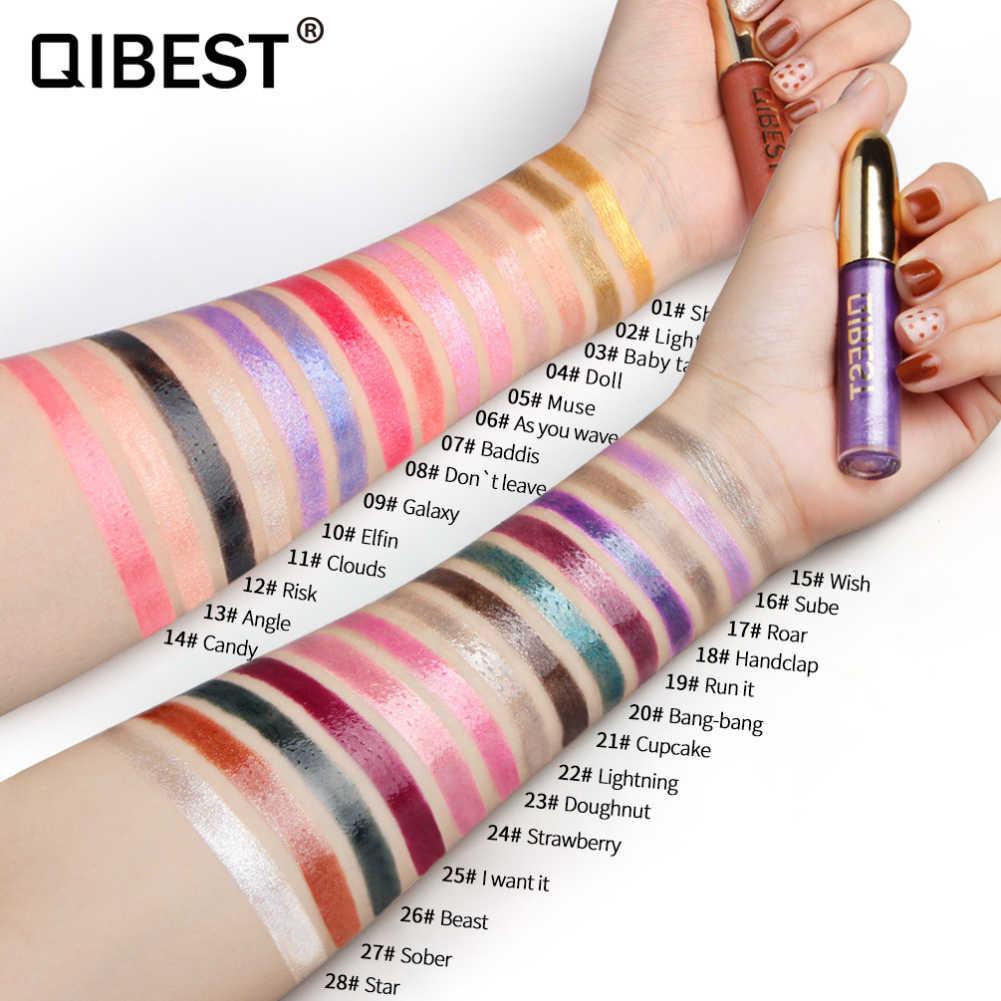 28 สีเซ็กซี่ Glass Lip Glaze แต่งหน้า Gloss Magic ยาวนานลิปสติก Polarized ลิปกลอสสีสัน Shining Lip care TSLM1