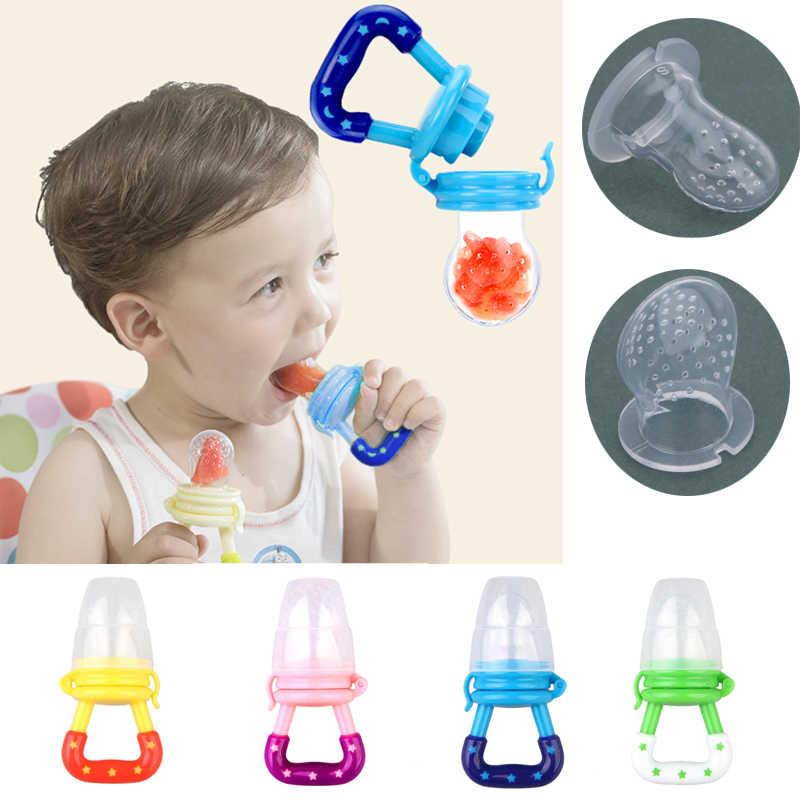 Chupete de silicona para bebés, chupete para pezones, chupete para niños pequeños, chupete, alimentador para frutas, alimento para bebés, chupete, pezón para frutas