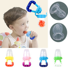 Safe Baby Fresh Fruit Food Nipple Feeding Fresh Fruit Pacifier Safe Milk Feeder Baby Bottles Nipple Teat Fresh Fruit(China)