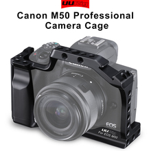 In Stock Professional DSLR Camera Cage for Canon M50 M5 Arca Quick Release Cage for EOS M50 With Hot Shoe Arri Hole 1/4