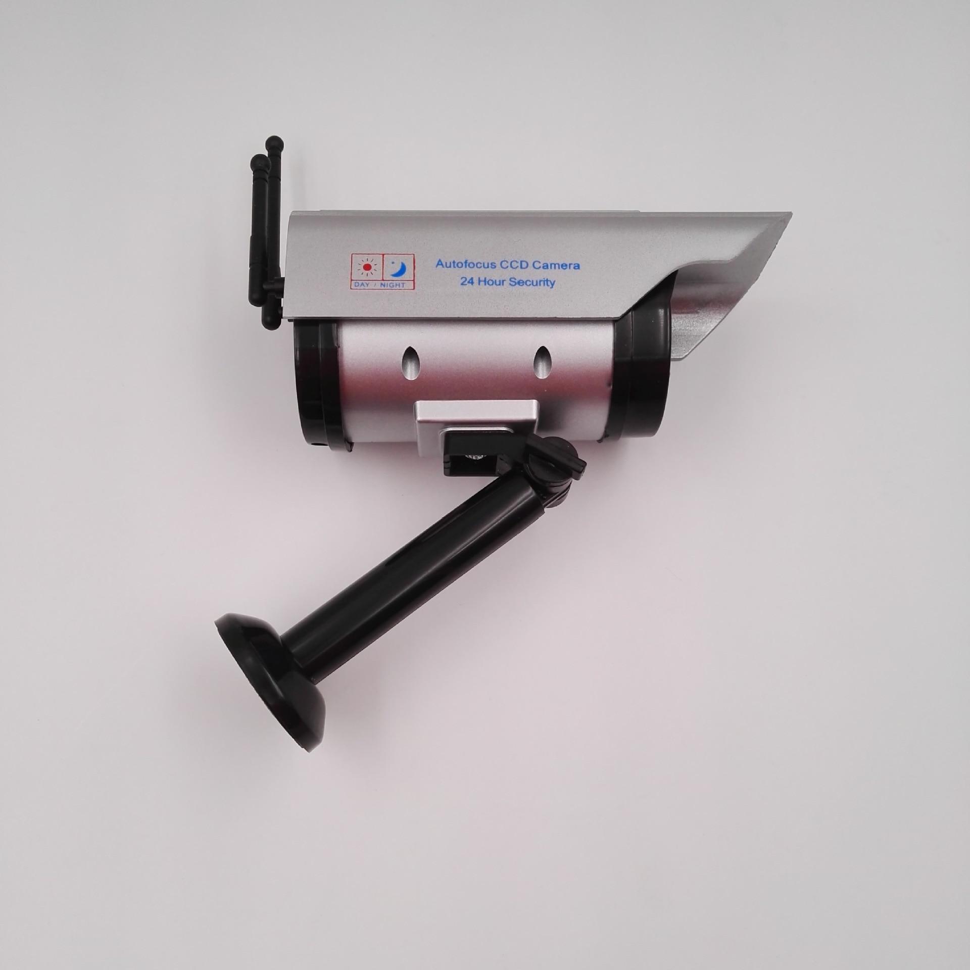 surveillance camera dummy outdoor fake security solar
