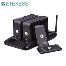 Retekess TD157 Restaurant Pager With 16 Receivers Support 997 Buzzers For Restaurant Coffee Shop Clinic Wireless Calling System
