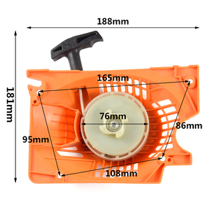 Image 2 - 1pc Chainsaw Starter Fit Stihl 45cc 52cc 58cc Chainsaw Spare Parts Pull Recoil Starter