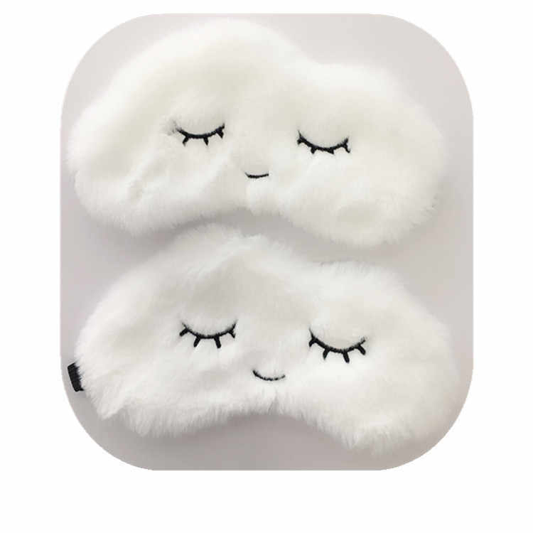 Party Cloud Eye Mask Cartoon cute Variety Sleeping Mask Plush Cover Eyeshade Relax Mask Suitable for Travel Home Party Gifts