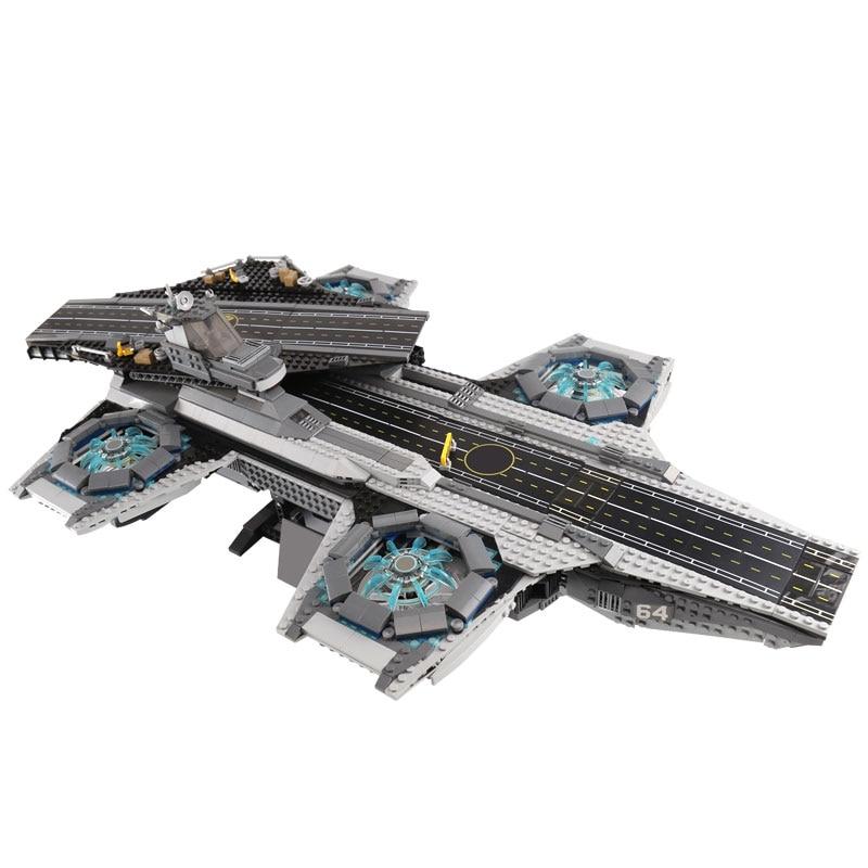 07043 87025 Super Heroes De Shield Helicarrier Model Set Gebouw Kinderen Bakstenen Blokken Speelgoed Legoinglys Star War Figuur 76042 - 2