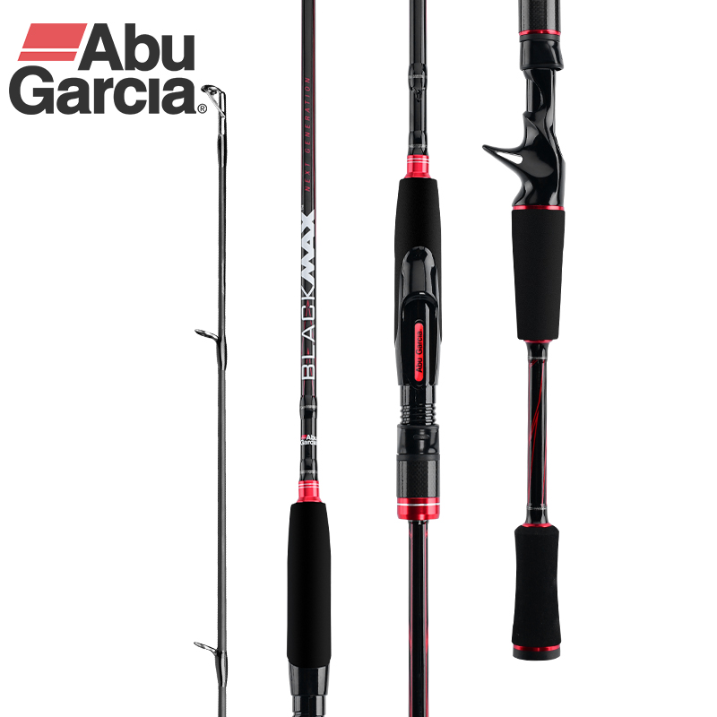 Original Abu Black Max BMAX 1.98m 2.13m ML M MH H  Bait casting Fishing Rod Spinning  Carbon Fiber Carp Fishing Tackle|Fishing Rods| |  - title=