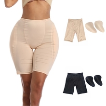 Sexy Silicone Hip Pads with Pants Shemale Fake Butt Transgender Enhancing Ass Enhancer Buttock Lifter Polyester