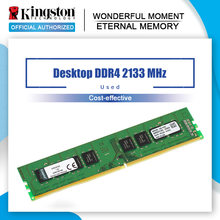 Kingston-módulo de Memoria RAM para ordenador de escritorio, PC24 DDR4 4GB 8GB 2133MHZ 8GB 2133 CL15 288pin 1,2 V