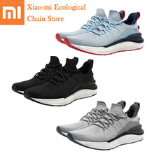 Hot Xiaomi Mijia Shoes 4 Men Outdoor Sports Sneakers Comfortable Breathable Light Shoes Sneakers 3 Goodyear Rubber PK Mijia 2