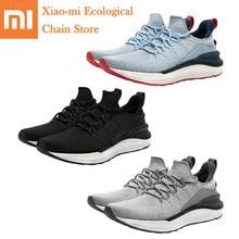 חם Xiaomi Mijia נעלי 4 גברים חיצוני ספורט סניקרס נוח לנשימה אור נעלי סניקרס 3 גודייר גומי PK Mijia 2