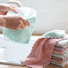 10/20Pcs Rag Cleaning Cloth For Washing Dishs Kitchen Supplies Kitchen Double Side Absorbent Dishcloth Special Soft Kitchen Tool(China)