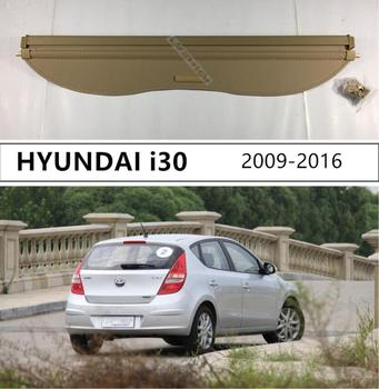 Rear Trunk Cargo Cover Security Shield For HYUNDAI i30 Hatchback 2009 2010 2011 2012 2013 2014 2015 High Qualit Auto Accessories