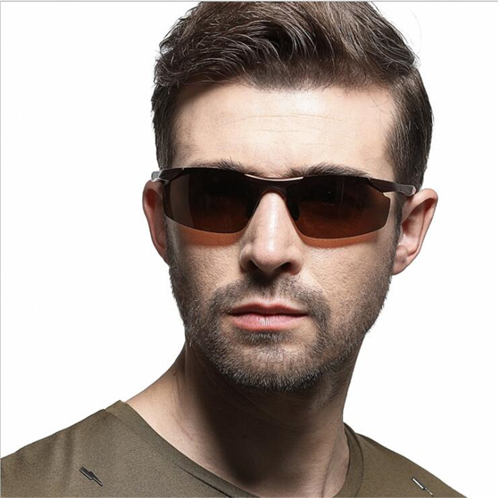 MUSELIFE 2020 Aluminium Magnesium Series Polarized Men  Sunglasses Vintage Driving  Male Sun Glasses Luxury Men Eyewear