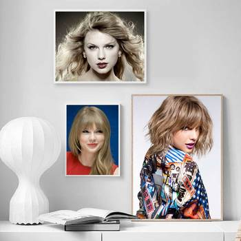 Taylor Alison Swift Poster Art Painting Custom Posters and Prints Paintings Wall Pictures Girl's Room Decor