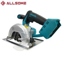 Saw-Blade Battery Cutting Circular-Saw Multi-Angle Electric ALLSOME Makita Brushless