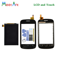 New High Quality 3.5'' For Alcatel One Touch POP C1 OT4015 4015 4015X Lcd Display With Touch Screen Digitizer Sensor