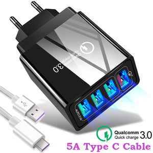 48W Quick Charger 3.0 USB Char