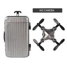Luggage mini drone folding aerial photography remote control aircraft four-axis aircraft With Camera 2018 new helicopter x5c aircraft four axes drone aircraft wifi real time remote control shipping from russia