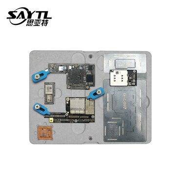Motherboard Holder Fixture For iPhone X XS XSMAX Mainboard BGA Reballing Kit Set Plant Tin Stencil Soldering Repair Tools