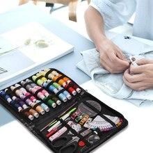 35/100pcs Needle Portable Mini Travel Household Sewing Box Set Kit Storage Bags Sundries Organizer Home Tools