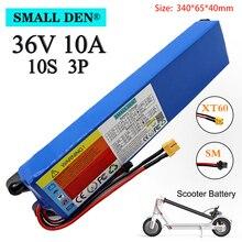 36 в 10 Ач 18650 перезаряжаемый литиевый аккумулятор 10S3P 500 Вт Высокая мощность для модифицированных велосипедов, скутеров, электромобилей, с BMS ...