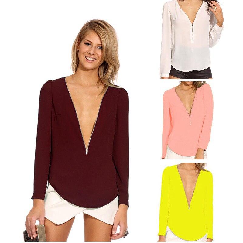 Kaguster Thicken White Blouse White Shirt Women Silk Chiffon Summer Promotion Women Tops Camisas Mujer Ladies Office Bluzka