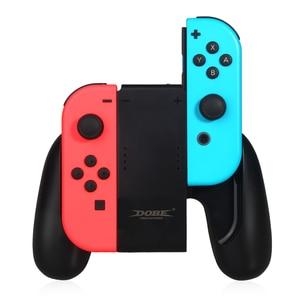 Image 1 - 닌텐도 스위치 ns n 스위치 조이 콘 컨트롤러에 대한 새로운 충전 핸드 그립 게임 패드 스탠드 홀더