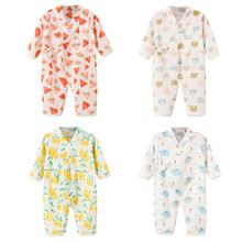 Jumpsuit Kimono Newborns Baby-Boy-Girl Robe for Romper Infant Yarn Floral