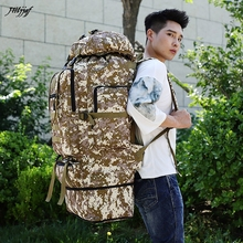 Large Capacity 100L Backpack Camouflage Outdoor Hiking Camping Backpacks Waterproof  Oxford Travel Rucksack Bag Sports Backpack
