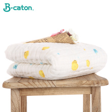 Baby Bath Towel Baby Cotton Bubble Gauze 6 Layers  Washcloth Baby Blankets Child Towel Soft And Strong Water Absorption105X105Cm towel baby bath towel vomit milk cotton gauze baby diapers soft and absorbent household multicolor differential use 50 68cm