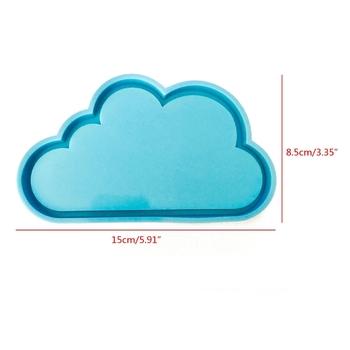 Chmura żywica Coaster formy chmura silikonowe formy DIY Handmade epoksydowa dekoracja żywiczna foremka chmura kształt żywica formy narzędzia tanie i dobre opinie GOHAND Narzędzia jubilerskie i urządzeń CN (pochodzenie)