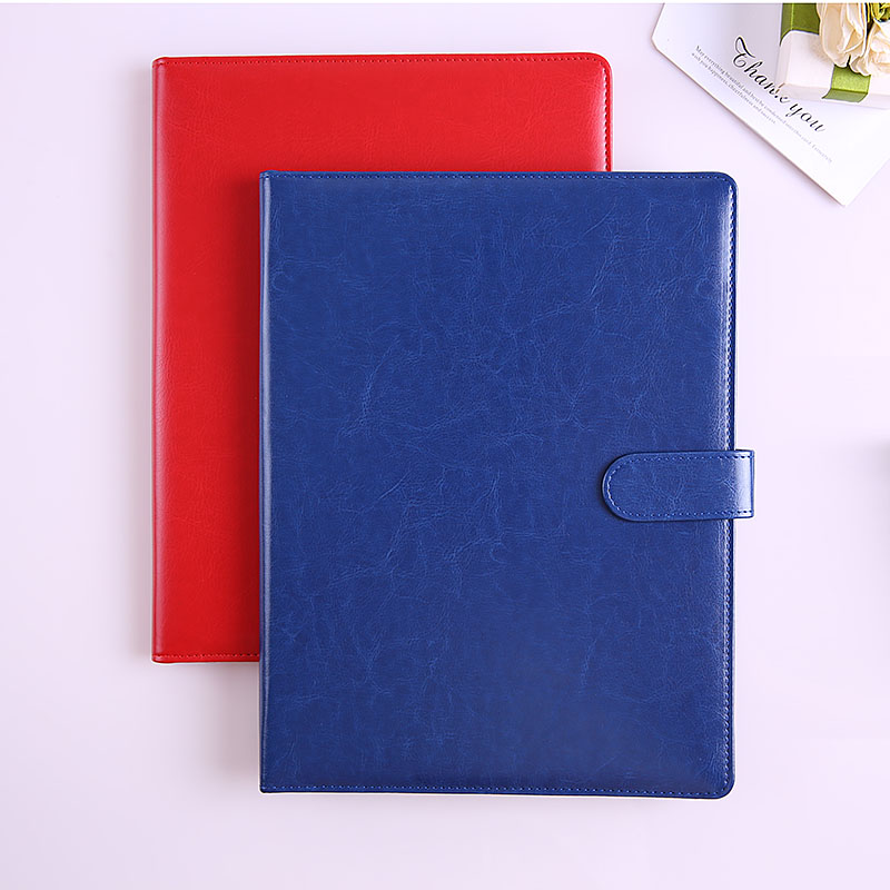 Image 3 - A4 Clipboard Folder Portfolio Multi function Leather Organizer Sturdy Office Manager Clip Writing Pads Legal Paper ContractPadfolio   -