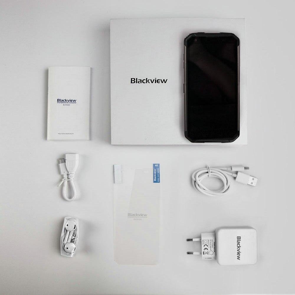 Blackview BV9500 Plus Smartphone 5.7 4 GB RAM 64GB ROM Android 9.0 IP68 étanche téléphone portable Helio P70 10000mAh téléphone portable - 6