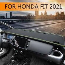 Для honda fit 2021 приборная панель солнцезащитный коврик четвертое