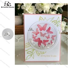 New Dies 2020 Circular frame Metal Cutting Dies diy Dies photo album  cutting dies Scrapbooking Stencil Die Cuts Card Making lace strip photo frame metal cutting dies for scrapbooking dies new 2020 stencils dies embossing die cuts card making craft dies