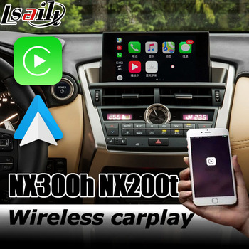 Wireless Carplay interface box for Lexus NX 2014-2019 video interface Android auto NX300 NX200t NX300h by lsailt image