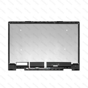 Image 4 - FHD LED 液晶ディスプレイ Assambly タッチスクリーンデジタイザ + ベゼル Hp 羨望 X360 15 bq051sa 15 bq003au 15 bq150na 15 bq051nr