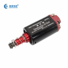 Chihai motor CHF-480WA-28TPA nd-fe-b 19000 rpm ver.2, caixa de engrenagem de torque alto motor de eixo longo para aeg airsoft