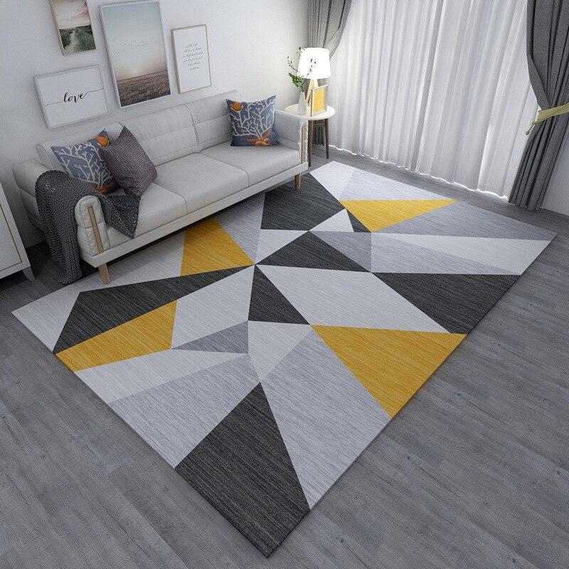 Nordic Simple Living Room Carpet Home Bedroom Carpet Decorative Office Rug Sofa Coffee Table Floor Mat Study Room Area Rugs