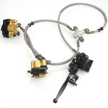 GOOFIT freno de disco delantero cilindro maestro calibrador hidruálico ensamblado para chino 50cc 70cc 90cc 110cc 125cc ATV Quad C029-054