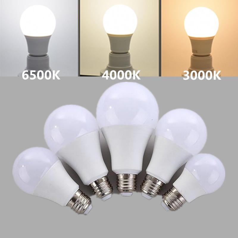 E27 Led Bulb Light Nature White 4000k White 6500k Warm White 3000k 220V 230V 5W 7W 9W 12W 15W Energy Saving Bubbe Ball Lamp