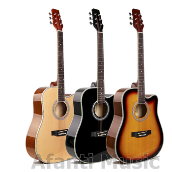 Afanti Music 41 inch Spruce top Acoustic guitar (WY-004)