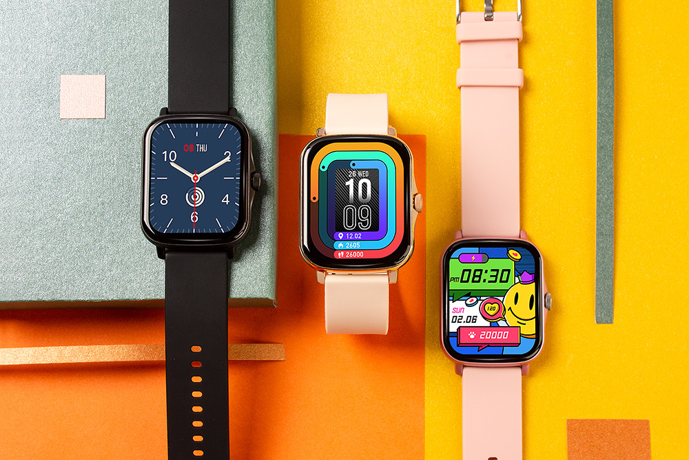 H9dbb5617d7f240f98eabfedf976b1a296 COLMI P8 Plus 1.69 inch 2021 Smart Watch Men Full Touch Fitness Tracker IP67 waterproof Women GTS 2 Smartwatch for Xiaomi phone