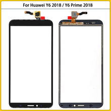 10PCS New Y6 TouchScreen For Huawei Y6 2018 / Y6 Prime 2018 Touch Screen Panel Digitizer Sensor Lcd Front Glass Replacement