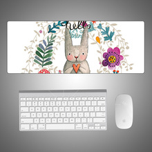 IDOBAO 2019 Chinese Style Flower Mouse Pad Mesa Gamer Desk Mat For Mechanical Keyboard Teclado mecanico Laptop Side Table gaming techase wired mouse and keyboard combo usb standard bamboo teclado mecanico game mouse gaming set teclado y raton inalambrico pc