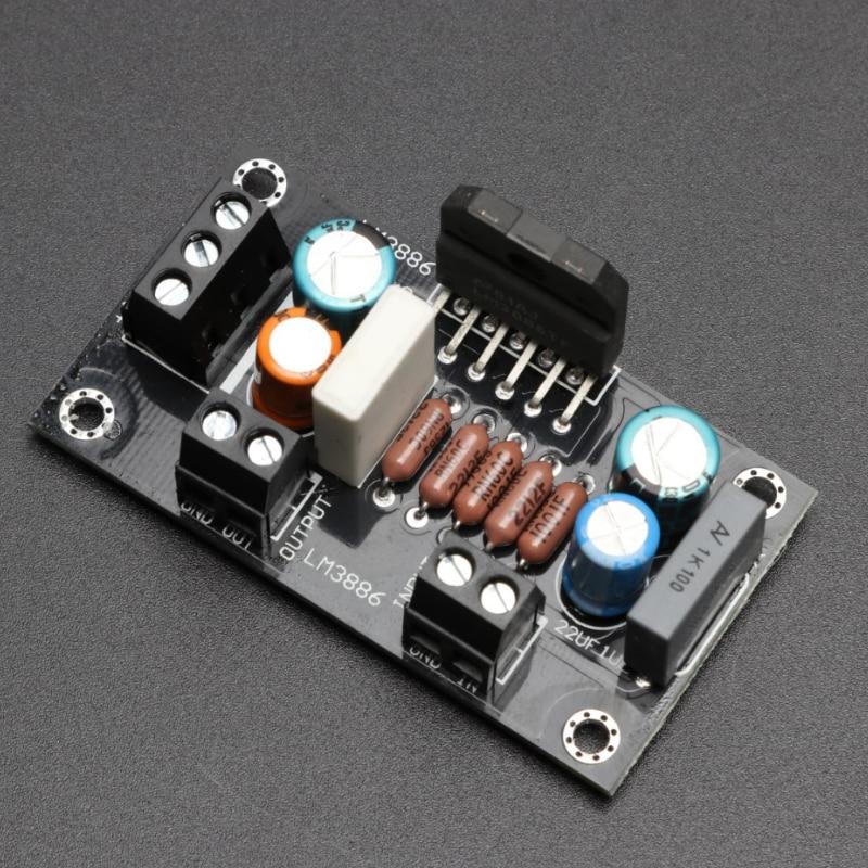 KYYSLB 68W 4 Ohms DC Dual 20-28V  LM3886 TF Amplifier Board 62*38MM HIFI Fever Class Mono Home Audio Amplifier Board