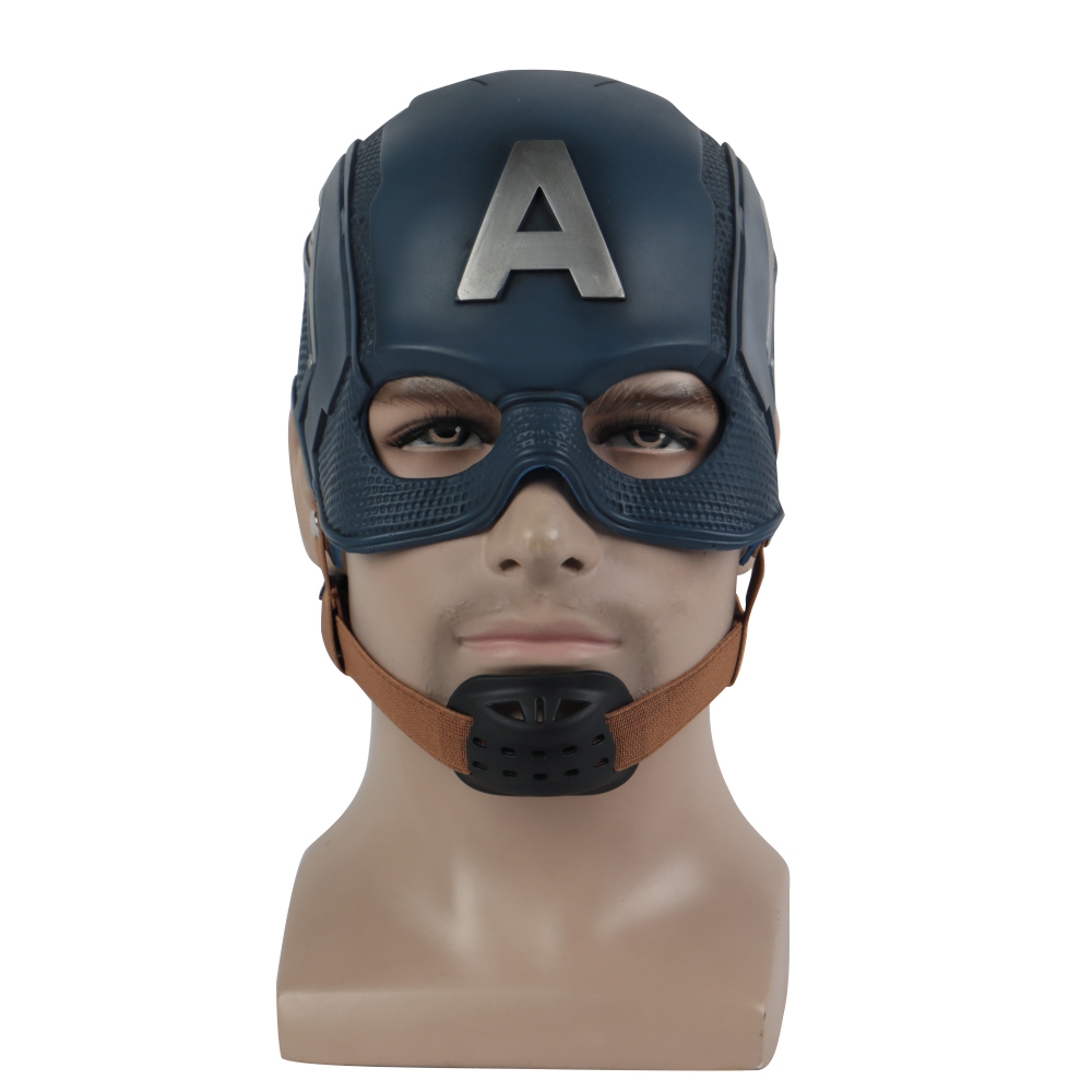 Captain America latex Mask The Avengers Cosplay costume Japan