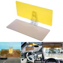 купить 1Pcs Car Sun Visor HD Anti Sunlight Dazzling Goggle Day Night Vision Driving Mirror UV Fold Flip Down Clear View Car Styling по цене 520.4 рублей