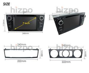 "Image 5 - سيارة مشغل وسائط متعددة ل BMW E90 E91 E92 E93 ستيريو رئيس وحدة 7 ""سيارة تحديد مواقع لمشغل أقراص دي في دي السبت التنقل راديو BT USB RDS AM/FM SWC DAB + DVBT"